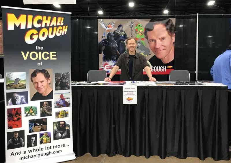 Michael Gough at Philadelphia Comic-Con